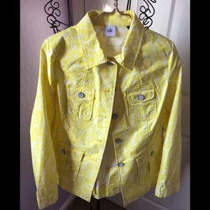 Cabi Field of daisies yellow/white jacket
